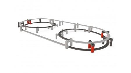 Märklin 23302 Kunststoffgleis-Ergänzungspackung Hochbahn