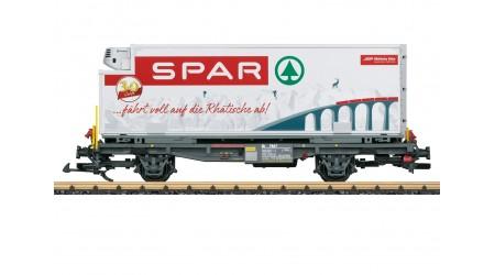 """LGB 46897 Containerwagen RhB """"Spar"""""""