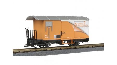 LGB 41283 MOB gedeckter Güterwagen Gk 522 Getaz Romang