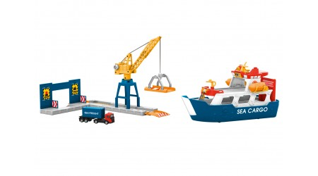 Märklin 72223 Frachtschiff und Hafenkran