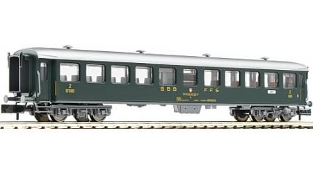 """Fleischmann 813901 """"Schnellzugwagen 2. Klasse der SBB"""
