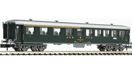 Fleischmann 813802 Schnellzugwagen 1./2. Kl., Bauart AB der SBB, Epoche IV