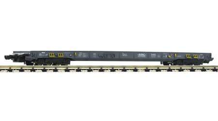 Fleischmann 827107 8-achsiger Niederflurwagen für Lastwagen- und Sattelzugtransporte, HUPAC
