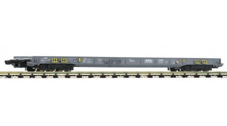 Fleischmann 827108 8-achsiger Niederflurwagen für Lastwagen- und Sattelzugtransporte, HUPAC