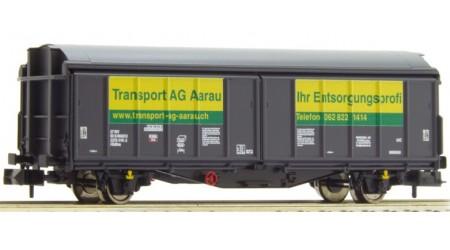 """Fleischmann 837305 Schiebewandwagen """"Transport AG Aarau"""""""