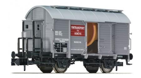 Fleischmann 845703 Weinkesselwagen mit Bremserhaus, SBB