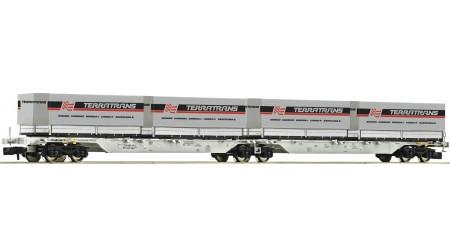 Fleischmann 825322 Doppeltragwagen der AAE