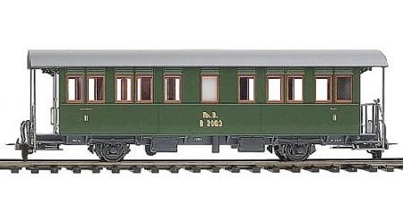 Bemo 3230 129 Zweiachser-Personenwagen der RhB B 2059