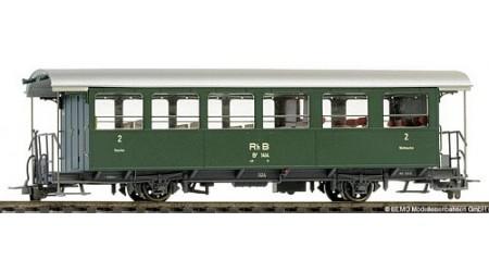 Bemo 3233 124 Zweiachs-Personenwagen B2 1414 ex AB2 der RhB