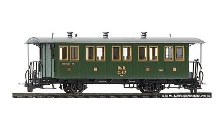 Bemo 3234 111 Zweiachs-Personenwagen RhB C 61