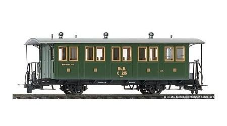 Bemo 3234 125 Zweiachs-Personenwagen RhB C 215