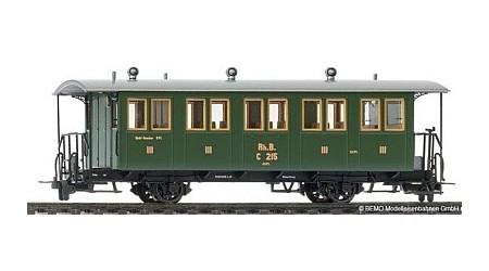 Bemo 3234 127 Zweiachs-Personenwagen RhB C 207