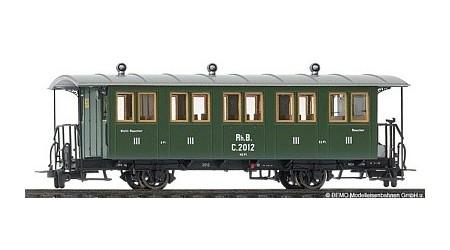 Bemo 3234 142 Zweiachs-Personenwagen RhB C 2012