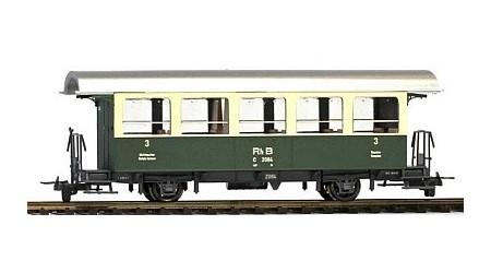 Bemo 3238 111 Zweiachs-Personenwagen der RhB C 2081