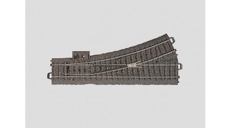 Märklin 24611 C-Gleis Weiche links 188,3 mm