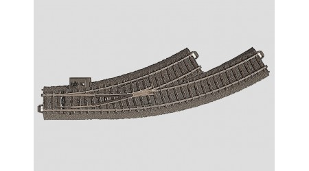 Märklin 24671 C-Gleis Bogenweiche links