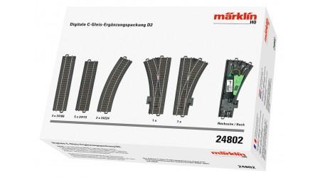 Märklin 24802 Digitale C-Gleis Ergänzungspackung D 2