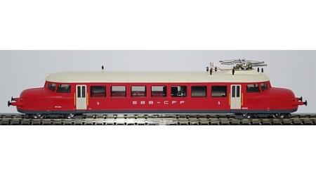 "Kato / Hobbytrain 2643 Triebwagenzug RBe 2/4 Nr. 204 SBB ""Roter Pfeil"""
