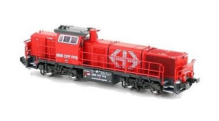 Kato / Hobbytrain 2334 Diesel-Lok Am 843 SBB INFRA