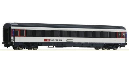 Roco 54167 Eurocity-Abteilwagen 2. Klasse der SBB