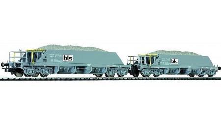 Kato / Hobbytrain 23053 Neuschotterwagen der SBB in der bls-Lackierung