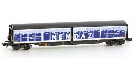 """Kato / Hobbytrain 23452 Schweizer Schiebewandwagen 4-Achs Habils """"Migros - Nendaz"""""""