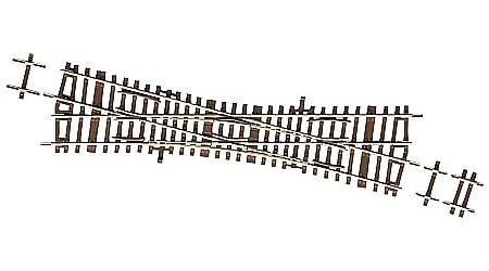 Roco 42448 Einfache Kreuzungsweiche