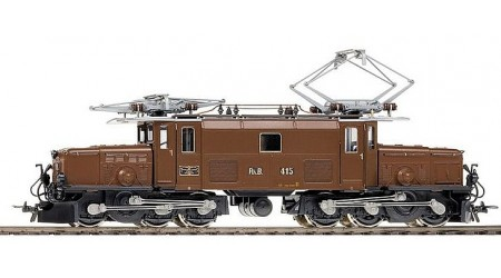 "Bemo 1255 145 E-Lok Ge 6/6 I Nr. 415 ""Krokodil"" der RhB"