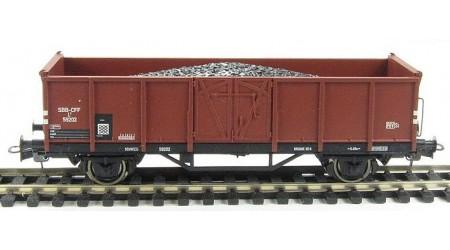 Liliput 221751 Hochbordwagen der SBB, Epoche III