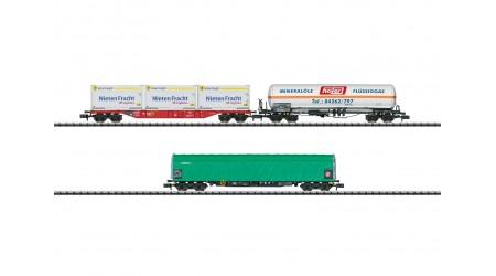 "Minitrix 15303 Wagen-Set ""Gütertransport"""
