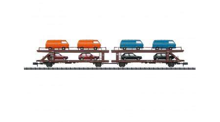 Minitrix 15442 Autotransportwagen DB
