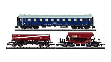 Minitrix 15142 Bauzugwagen-Set