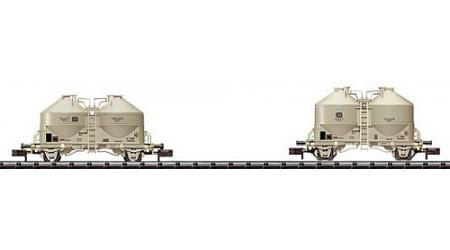 Minitrix 15258 Silowagen-Set  2 Wagen der DB
