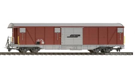 Bemo 2278 175 Großraumgüterwagen Gak-v 5415 mit silbernen Türen der RhB