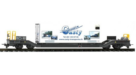 Bemo 2289 115 RhB Sbk-v 7705 mit Kühlcontainer 'Casty'