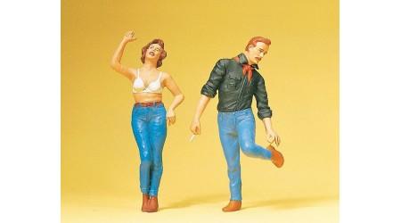 Preiser 45127 Paar in Jeans