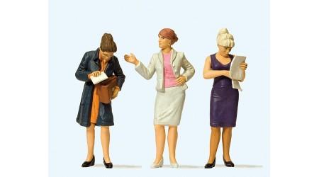 Preiser 44907 Stehende Damen