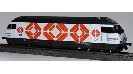 """HAG 280 Elektrolokomotive Re 460 der SBB """"TSI 1"""""""