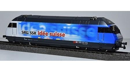 """HAG 280 Elektrolokomotive Re 460 der SBB """"SRG SSR idée suisse"""""""