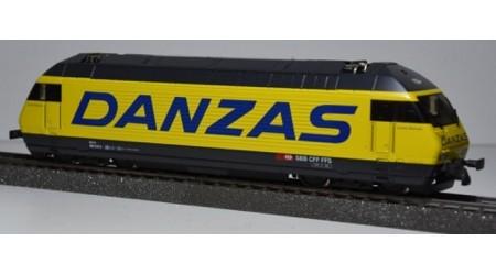 "HAG 280 Elektrolokomotive Re 460 der SBB ""Danzas"""