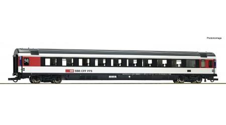 Roco 74281 Eurocity-Reisezugwagen 2. Klasse, Gattung Bpm, der Schweizerischen Bundesbahnen