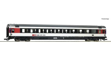 Roco 74282 Eurocity-Reisezugwagen 2. Klasse, Gattung Bpm, der Schweizerischen Bundesbahnen