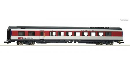 Roco 74283 Eurocity-Speisewagen, Gattung WRm, der Schweizerischen Bundesbahnen