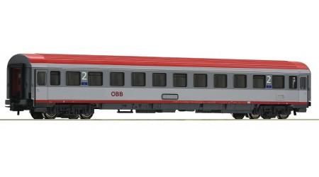 Roco 54164 Eurofima-Schnellzugwagen 2. Klasse, Gattung Bmz, der Österreichischen Bundesbahnen