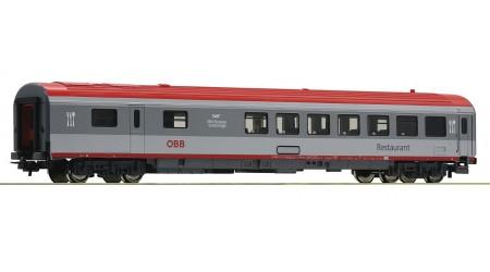 Roco 54165 Eurofima-Speisewagen, Gattung WRmz, der Österreichischen Bundesbahnen