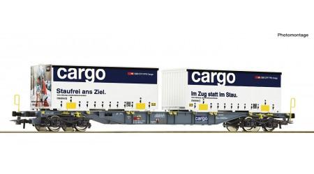 Roco 77341 Containertragwagen der SBB