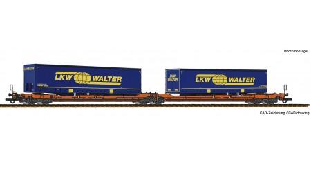 Roco 77393 Doppeltaschen-Gelenkwagen T3000e, Wascosa