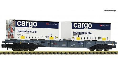 Fleischmann 865244 Containertragwagen Gattung Sgnss, der Schweizerischen Bundesbahnen