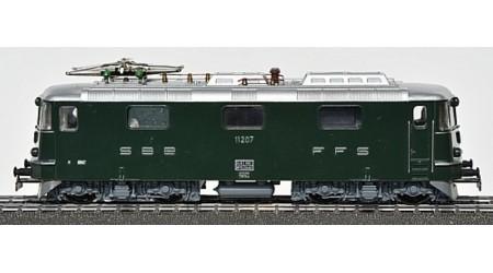 HAG 160 E-Lok Re 4/4 II 11207 der SBB