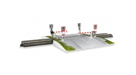 Märklin 74924 Vollautomatischer einteiliger Bahnübergang C-Gleis